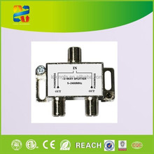 China hot sell high quality 2 way tv splitter /catv splitter /satellite splitter 5~2400mhz with competitive price