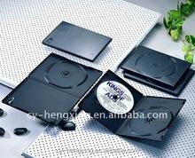 PP 14mm long single black dvd case