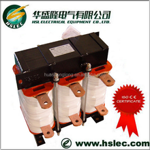 3phase iron core dry-type inductor compatible to soft starter