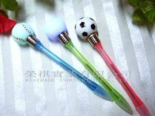 Promotional LED Sporty Ball Pen