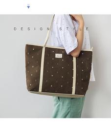 2015 Hot Selling Canvas Casual Tote Handbag bag