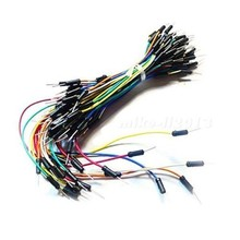 65pcs Prototype Breadboard Jumper Cables For Arduin Coded Wire Prototype Kit