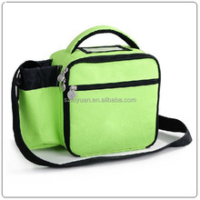 wholesale insulted lunch bag with bottle holder,kid lunch bag