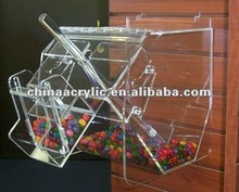 Wall Mounted Acrylic Display Case in High Quality