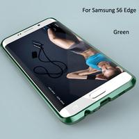 New Aluminium Metal Bumper Cover Anti Knock Frame Case for Samsung Galaxy S6 Edge UltraThin