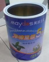 Washable interior Wall Emulsion White Paint Price 20 kg barrel