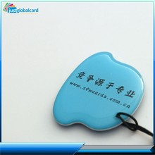 recordable special shaped crystal epoxy smart card epoxy smart card chinese chip card factory