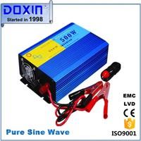 12v 500w Pure sine wave inverter, DC TO AC Power inverter 500watt Solar system inverter