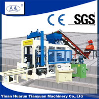 8-15 curb machine fully automatic machine for concrete hollow block