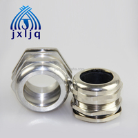PG11 Waterproof Brass Cable Gland (plastic insert without claw)IP68 with lock nut