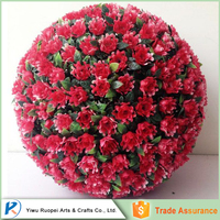 China Wholesale red rose balls for weddings