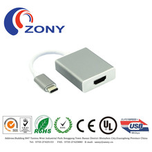 2015 latest super speed usb 3.1 type c to hdmi cable type c hdmi adapter