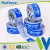 Water based acrylic adhesive carton sealing custom printed packing tape