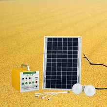 3W 12V LED Camping Lights Charged by Solar Panel
