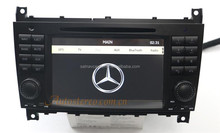 Autostereo Car Audio System for Mercedes C-Class W203 Car Radio with GPS DVD BT PIP SWC D-TV DVR RCA MP3 MP4 Touch Screen