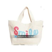 Cute school standard size blank cotton canvas wholesale tote bag
