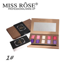 2015 Newest product professional miss rose make up eye shadow palette/shining eye shadow