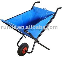 Cloth Foldable wheelbarrow