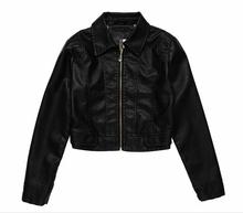 2015 garment factory OEM wholesale fashion original leather jacket