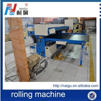 latex foam roll packing machine/automatic wrapping machine