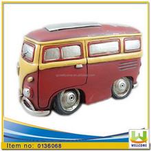 Polyresin Home decoration Money bank minibus camper Van cm. 16 x 8,2 x h. cm. 9,1