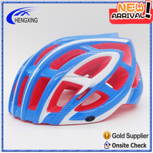 New Arrival bicycle cycling adult helmet with red color EPS line