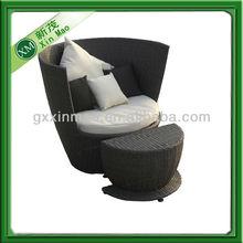 living room chair pe rattan furniture wholesale