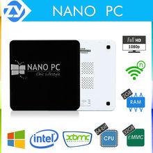 New Nano PC Mini PC w/ Windows8.1 Intel Atom Z3735F Quad Core 1.33GHz 2GB 32GB Bluetooth FHD 1080P Kodi Fanless Win8.1 Pocket PC