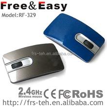really mini 2.4G wireless ultra-thin wireless computer gift mouse(RF-329)