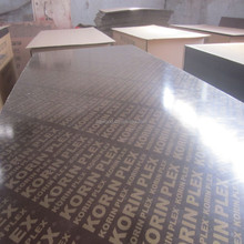 18mm,12mm Korinplex Plywood /Korin plex Film Faced Plywood price