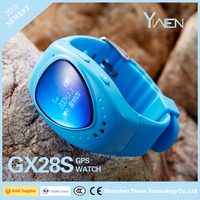 Yiwen GX28S Children Kids Smart Phone 2015 KIDS GPS Watch with Remote monitoring&GPS Position Tracking & SOS Call Kid