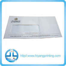 Paper envelope with window