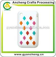 Customs design silicone rubber i 4 mobile phone cover/case