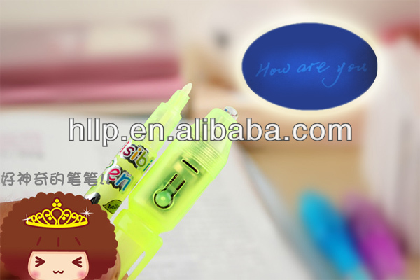 çin kaliteli profesyonel led yanıp tükenmez kalem üreticisi yeni logo plastik tükenmez kalem