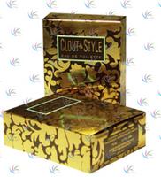 Folded photo box for perfume packing