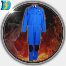 260gsm FR 100% cotton fabric, FR PU coverall pilot
