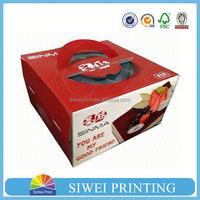 china private label cheap cake boxes