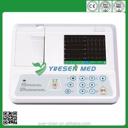 YSECG-03G 3 Channel Digital ECG Machine