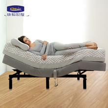2015 popular Home Furniture Electric Bed with Massage Function okin motor 4 zones adjustable bed