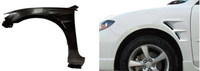 Great Using Carbon Fiber Fender For Mazda 3/Alexa 2006 Up Car Front Fender with High Quality