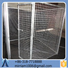 Good-looking new design large outdoor strong steel dog kennel/pet house/dog cage/run/carrier
