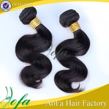 Can be dyed any colour remy human hair weft color 350
