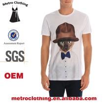 2015 OEM Manufacturer Custom Made Mens Printed Tshirt
