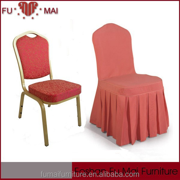 Luxuries Style Modern Used Banquet Chair Covers Plain Dyed