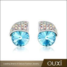 OUXI hot selling party wear cheap fancy polki jhumka earrings