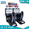 HM-D05 Russia original 4D racing car game machine with motion seat