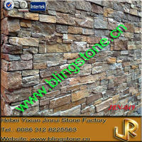 Natural Decorative Interior Stone Brick Walling Panel