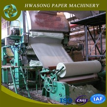 full auto high speed new condition tissue paper production equipment with pulper line