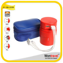 Colorful cheap travel kit universal mobile phone charger kit can be used in 150 countries