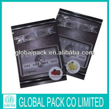 New design XXX with zipper herbal incense bag